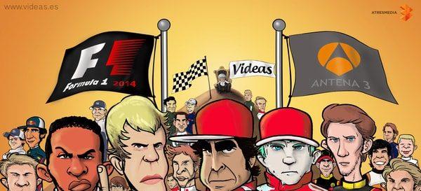 De nuevo VIDEAS con la F1 en 2014